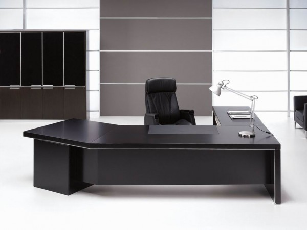 Modern Office Executive Table Design Desk View Pictures